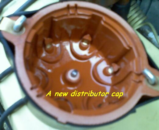 A new distributor cap