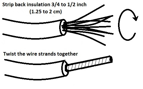 auto truck electric repair wire harness repair connector short this splice method is the one i normally use it has several advantages a er joint provides a very good electrical circuit it is resistant to
